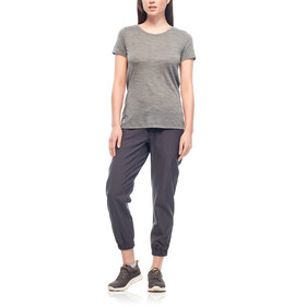 Icebreaker Sphere SS Low Crew Shirt Women metal hthr
